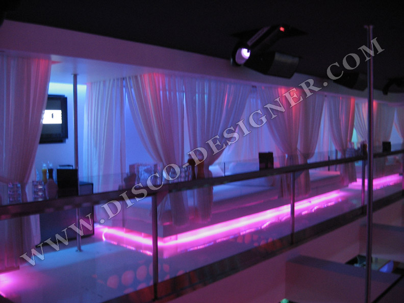 Led Bubble Disco Panel Retro Modern Bar Lounge Nightclub