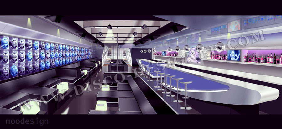 club lounge design