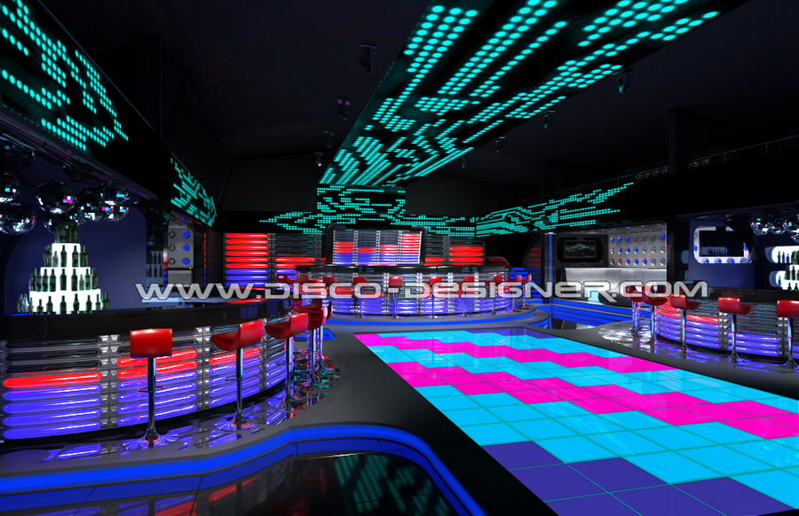 Nightclub decoration ideas decorating ideas for Night light design