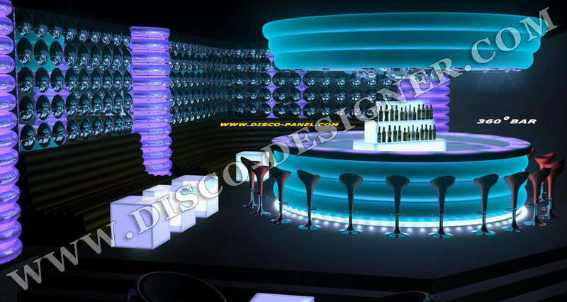 nightclub_led_lighting _bar_design_2 - Nightclub Design Ideas