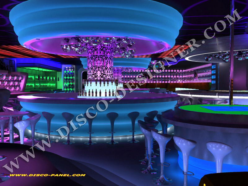 Interior design magazine: nightclub decoration ideas