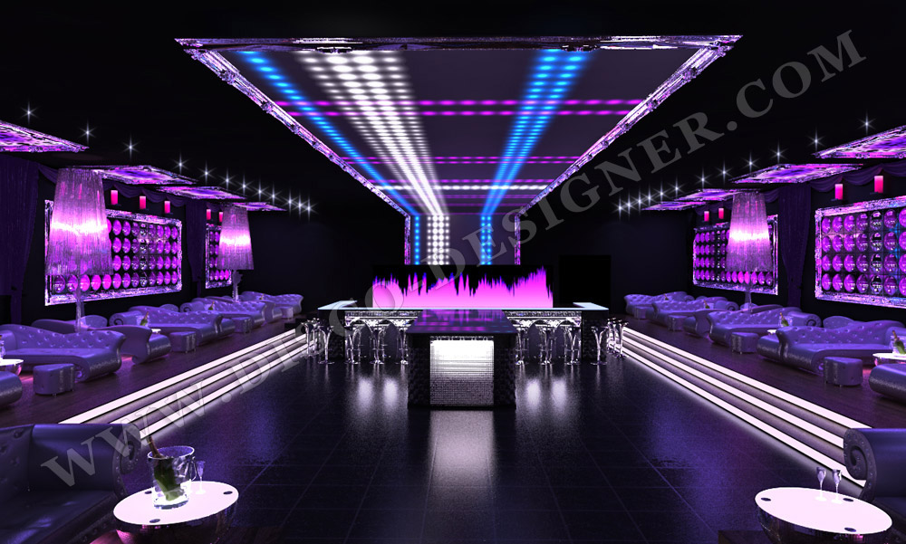 gallery for club bar designs
