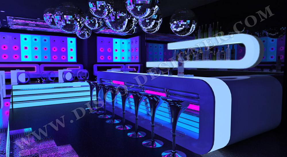 Discokugeln, led bar