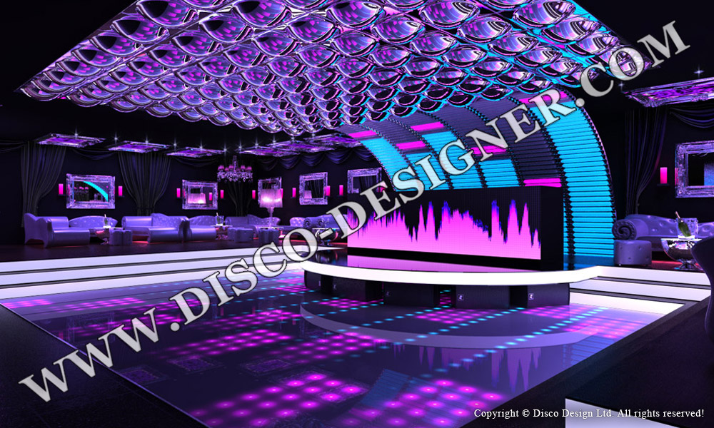 DISCO-PANEL  GRANDES BULLES - Non Illuminé