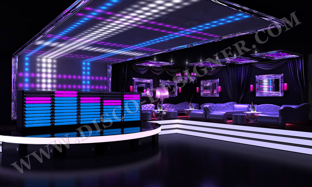 club_design_LED Cabines DJ