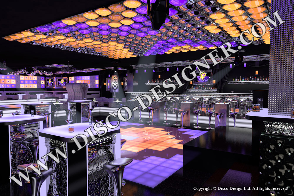 Club Dekor Design Disco und Lounge Möbel