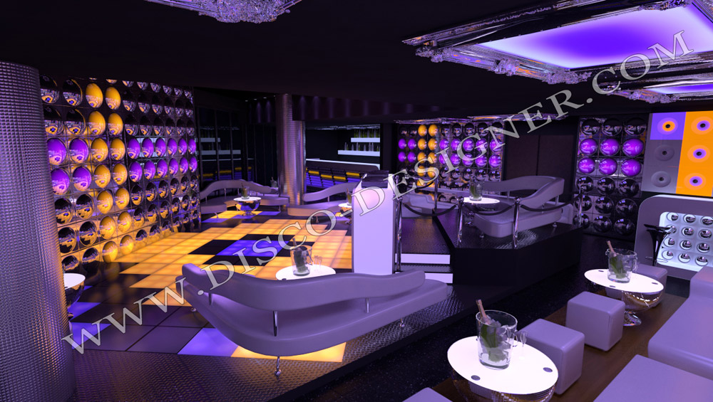 3d Night club_design-modern