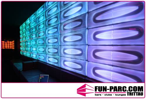 Space Panel Nightclub LED  Lighting Design