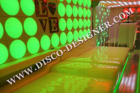 "Disco Sofa - MODERN ""Bed"""