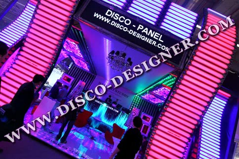 "LED DISCO-PANEL ""EQUALIZER"" - Big"