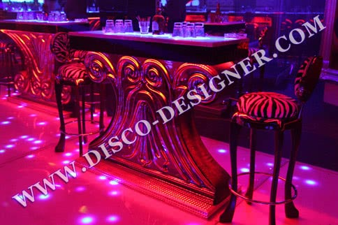 "DISCO TABLE ""FLOWER"""