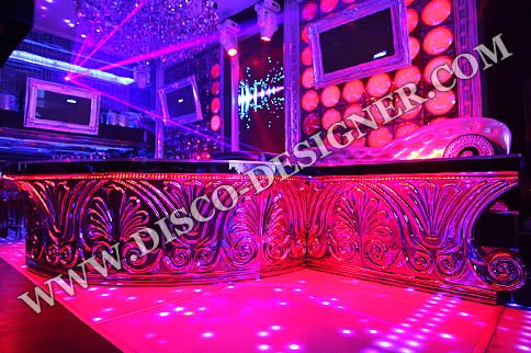LED Baroque Ornamental Bar - Omega Shaped