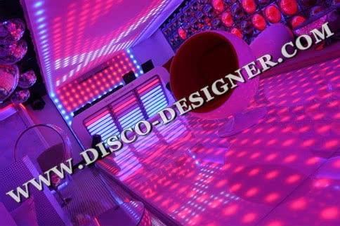 LED DANCE FLOOR MODERN 25 High Power Pixels/m²
