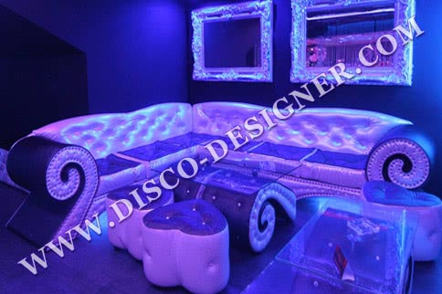 Baroque Disco Corner Sofa