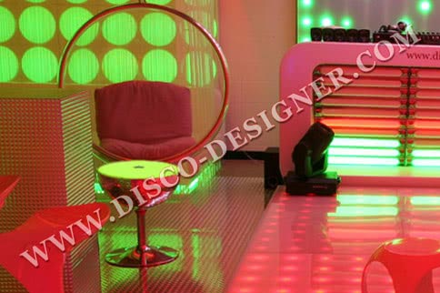 DISCO BALL TABLE SMALL