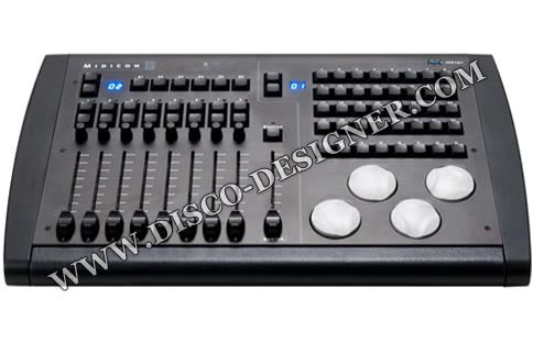 MIDI Controller for Moving Head