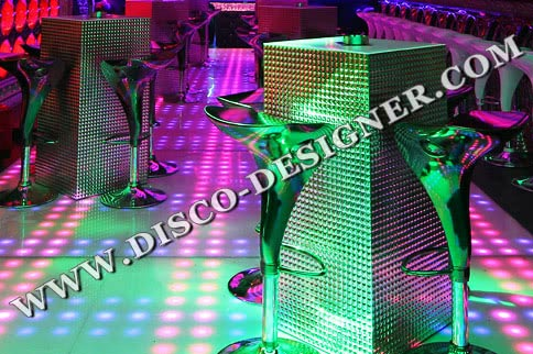 LED DANCE FLOOR RETRO-MODERN 64 High Power Pixels/m²