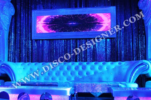 Baroque Disco Sparkling Sofa