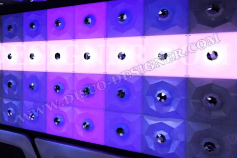 "LED DISCO-PANEL ""EYE"" - ULTRA"