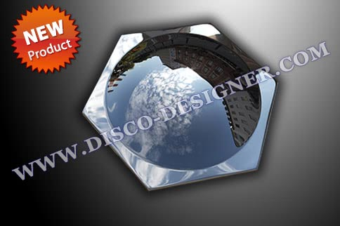 HEXA BUBBLE ( MIRROR FINISH )