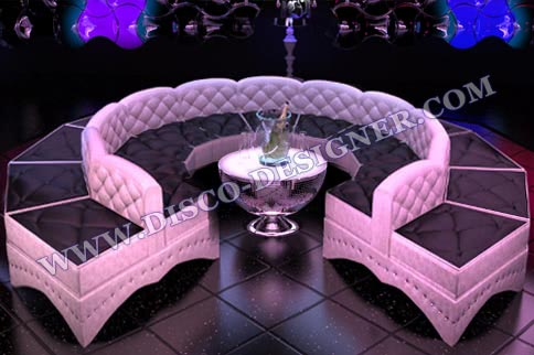 Round Baroque Disco Sofa
