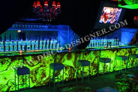 LED Marble Bar  (artificial marble)
