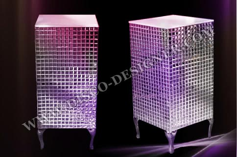 LED BOX TABLE Mirror
