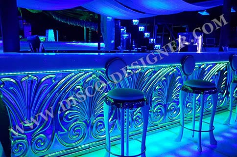 LED Baroque Ornamental Bar - Straight