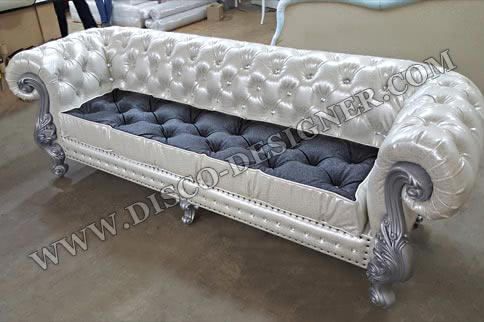 LUXURY BAROQUE DISCO SOFA - Double Armrest