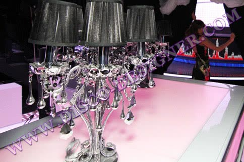 Crystal Mirrored Candlestick