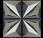 LED STAR PANEL (MIRROR FINISH) - 1m x 1m