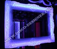 LED Barock-Spiegel - 123cm/92cm