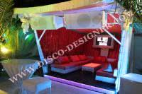"GAZEBO ""CLUB DE PLAYA"""
