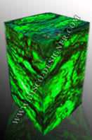 LED BOX TABLE Marble (artificial)