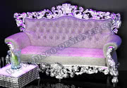 QUEEN SOFA WITH BAROQUE FRAME