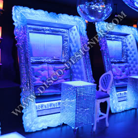 LED Baroque Frame Sofa