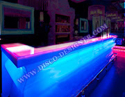 LED Modern Curved Bar