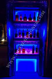 LIQUOR DISPLAY SHELF