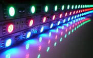 LED BAR DMX CONTROLLABLE including Power supply