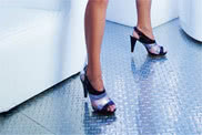 MIRRORED ALUMINUM FLOOR SHEET