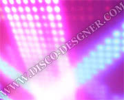 "LED DISCO-PANEL ""SUFITOWY""- 64 PIXELS/sq.m."