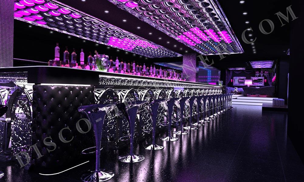 Lounge Chair LED Bubbles Ceiling
