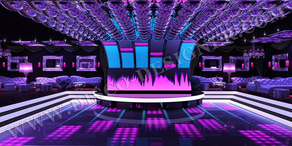 3d project designs dj booth ultra led design led ceiling disco lamp mozeypictures Choice Image