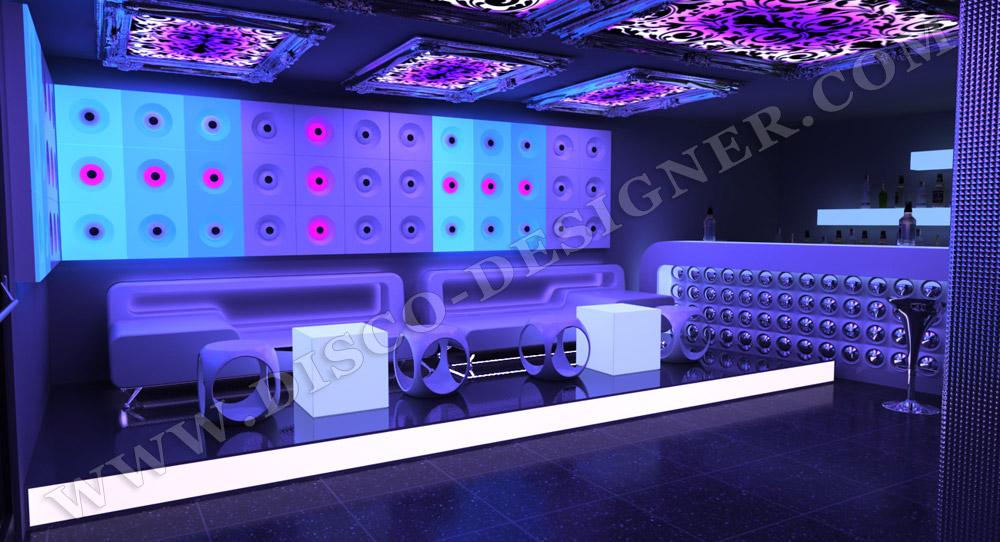 Disco Sofa Nightclub Furniture By Disco Designer Ultra