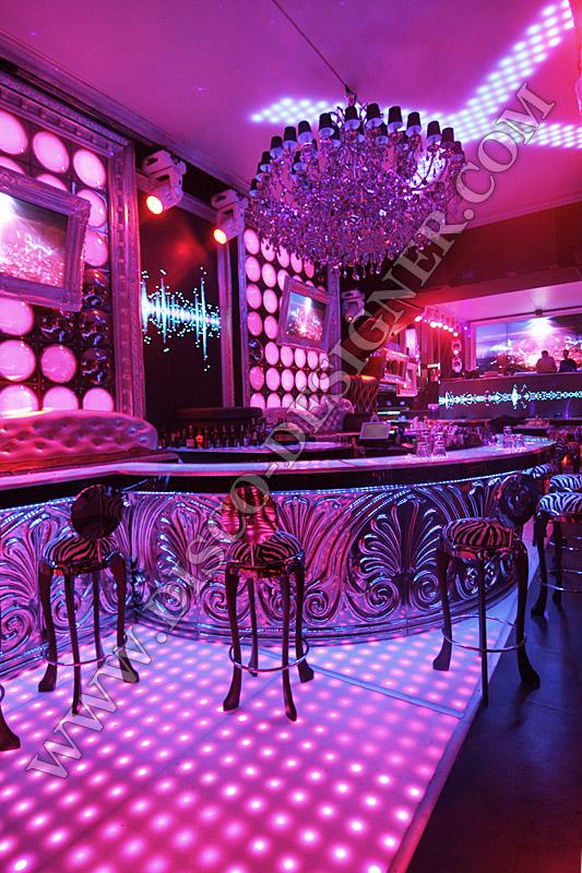 led baroque ornamental bar. Black Bedroom Furniture Sets. Home Design Ideas