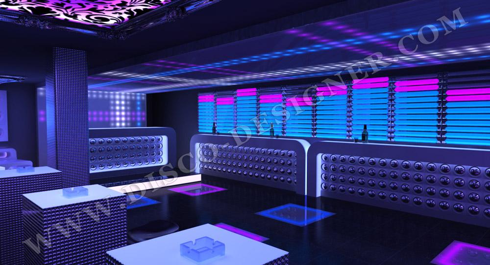 Bar De Mur Moderne 224 Led