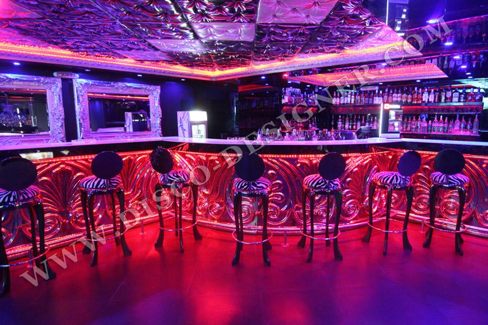 Disco Baroque Bar Chair