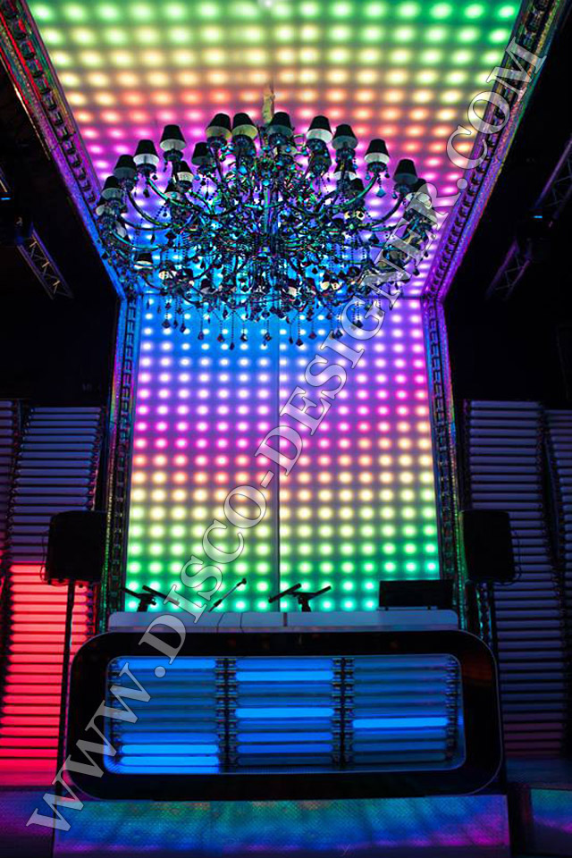 Led Disco Chandelier