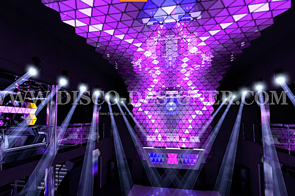 Led Triangle Panel Disco Panel By Disco Designer