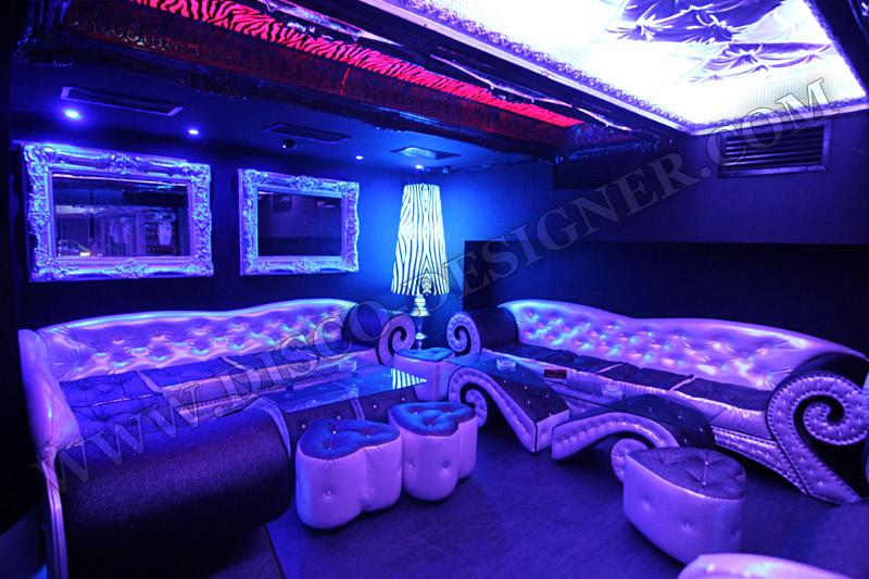 Baroque Style Disco Corner Sofa